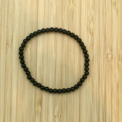 Bracelet onyx 4mm