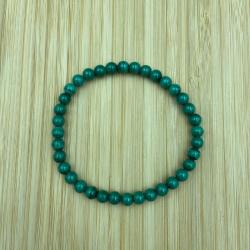 Bracelet malachite 6mm