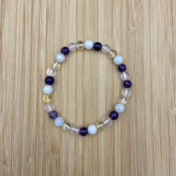 Bracelet pierre de lune,...