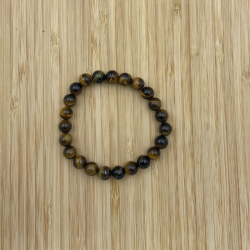 Bracelet oeil de tigre 8mm