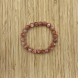 Bracelet pierre du soleil 8mm