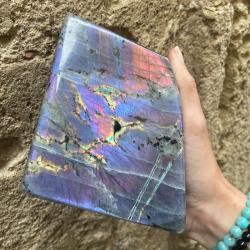 labradorite violette