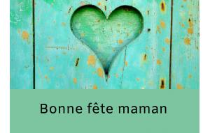 carte cadeau bonne fête maman